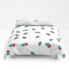 Ditsy Mistletoe Comforters