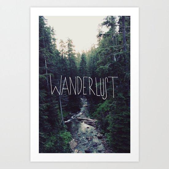 Wanderlust: Rainier Creek Art Print