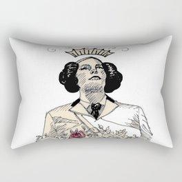 Woman sergeant queen Rectangular Pillow
