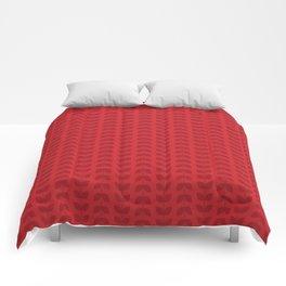 Scarlet Leaves Comforters