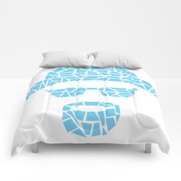 Crystal Blue Persuasion Comforters