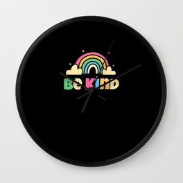 Be Kind Wall Clock