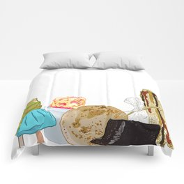 We Dont Do Basic Food Comforters