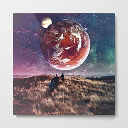 Towards New Worlds Metal Print