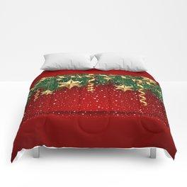 Christmas shopwindow Comforters