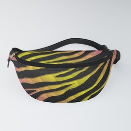 Ripped SpaceTime Stripes - Pink/Yellow Fanny Pack