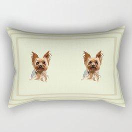It's A Yorkie Rectangular Pillow
