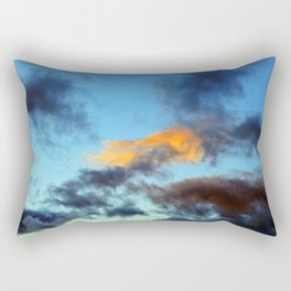 Fishy Cloud Glows in the Sky Rectangular Pillow
