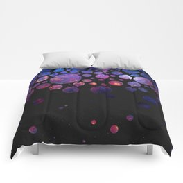 Space Bubbles Comforters