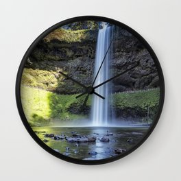At the Foot of South Falls, No. 2 Wall Clock