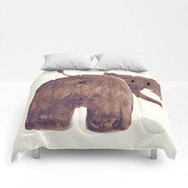 Elephant's butt Comforters