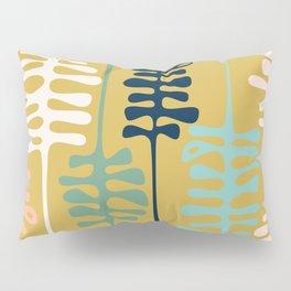 Abstract jungle - mustard Pillow Sham