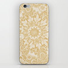Floral in Yellow iPhone & iPod Skin