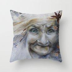 Babayaga 1 Throw Pillow