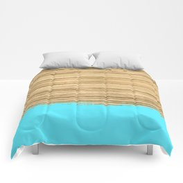 Dipped Wood - Zebrawood Comforters