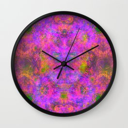 Sedated Abstraction I Wall Clock
