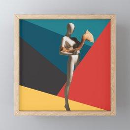 ABSTRACT ANATOMY - Stay Framed Mini Art Print