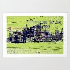 Toronto, Queen and Spadina Art Print