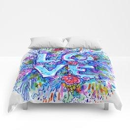 love marker Comforters