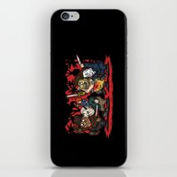 Where the Slashers Are (Full Color) iPhone & iPod Skin