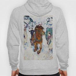 Galloping Horse by Edvard Munch Hoody