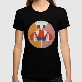 Cute Monster Sticker T-shirt