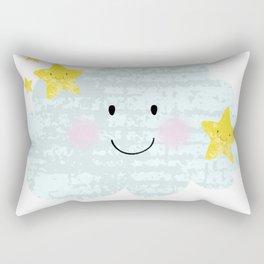 Kawaii Twinkle Little Star Rectangular Pillow