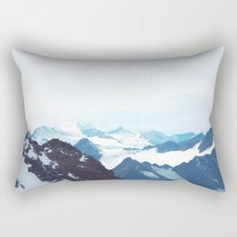No limits - mountain print Rectangular Pillow