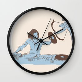 Can Music Stop Love Wall Clock