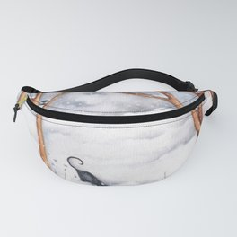 Snow Day Fanny Pack
