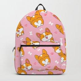 Cute Happy Dog Backpack