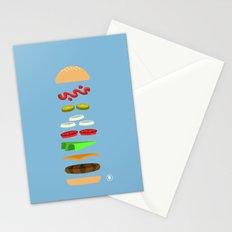 Chz Brgr Stationery Cards
