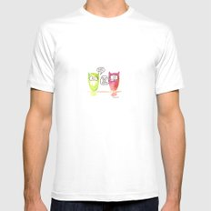 Woot Woot. White Mens Fitted Tee MEDIUM