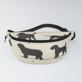 Vintage Dog Breeds Chart Fanny Pack