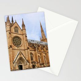 St Mary's Cathedral in Sydney Australia Stationery Cards