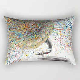 Sight of Sound Rectangular Pillow