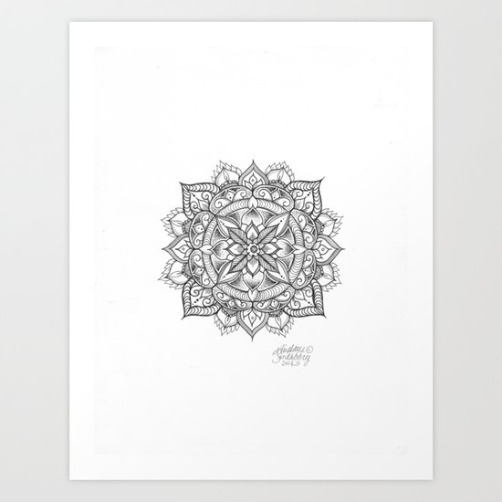 Leaf of Life Art Print