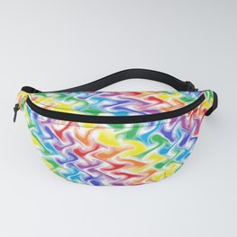 A Messy Rainbow Fanny Pack