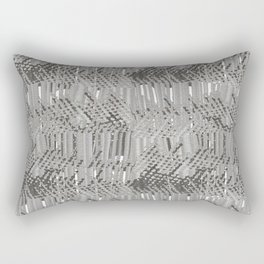 Gray abstract background Rectangular Pillow