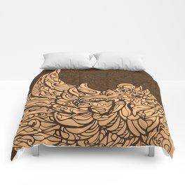 Garuda Batik Brown I Comforters