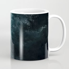 Oceanscape - White and Blue Coffee Mug