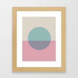 Mid Century Modern 10 Framed Art Print