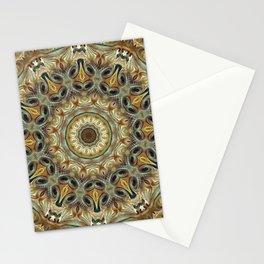 Flower Of Life Mandala (Nature's Whispers) Stationery Cards