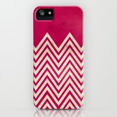 PINK CHEVRON iPhone (5, 5s) Slim Case