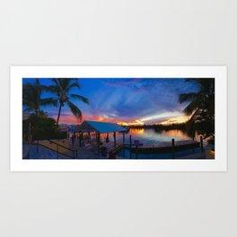 Freeport Paradise Art Print