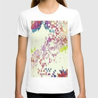 world maps T-shirts featuring Maps by MonsterBrown