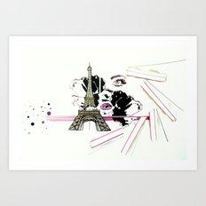 Son Paris 1.0 Art Print