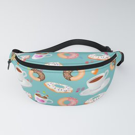 Coffee and Doughnuts Fanny Pack