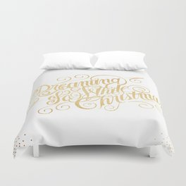 Dreaming of a White Christmas Duvet Cover