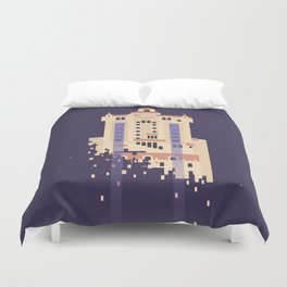 The Hollywood Tower Hotel Duvet Cover